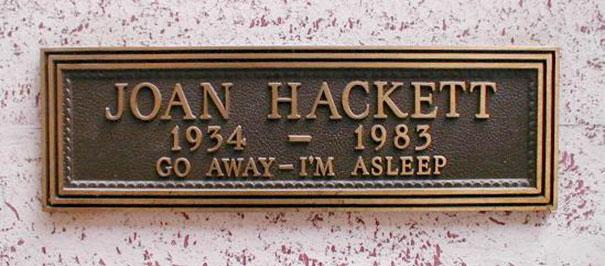 17 смешных надписей на надгробиях от людей, чье чувство юмора будет жить вечно! рис 7