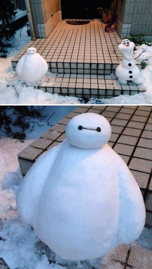 17 снеговиков, доказывающих, что у японцев все не как у людей! рис 4