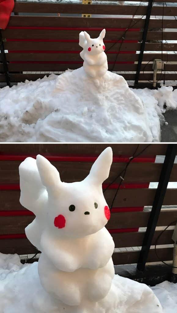 17 снеговиков, доказывающих, что у японцев все не как у людей! рис 3