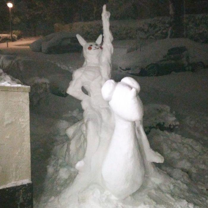 17 снеговиков, доказывающих, что у японцев все не как у людей! рис 7