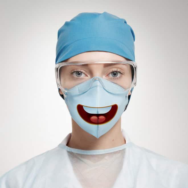 14 хирургических масок, которые точно развеселят пациентов!