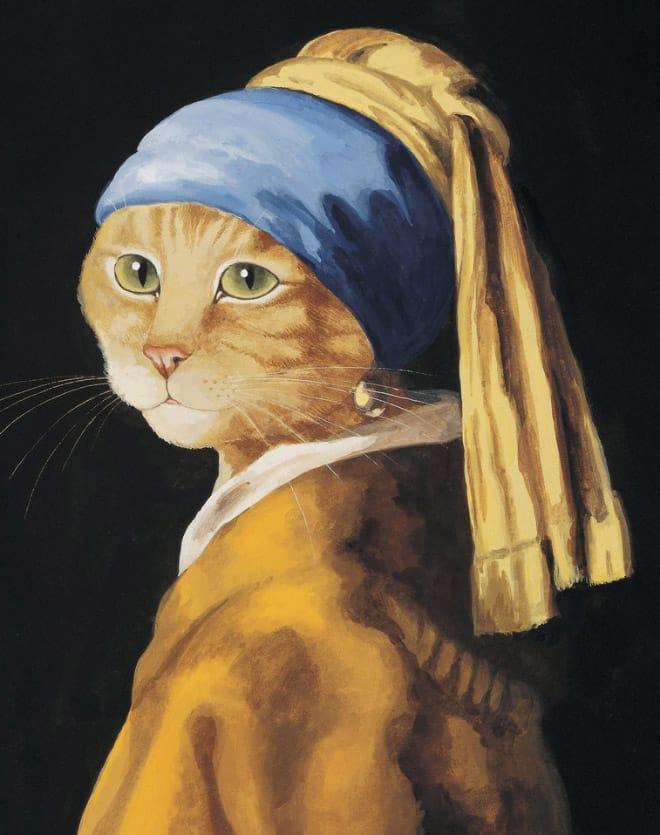 16 всемирно известных картин, героями которых выступили котики! рис 16