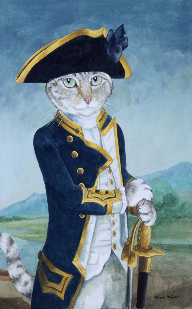 16 всемирно известных картин, героями которых выступили котики! рис 5