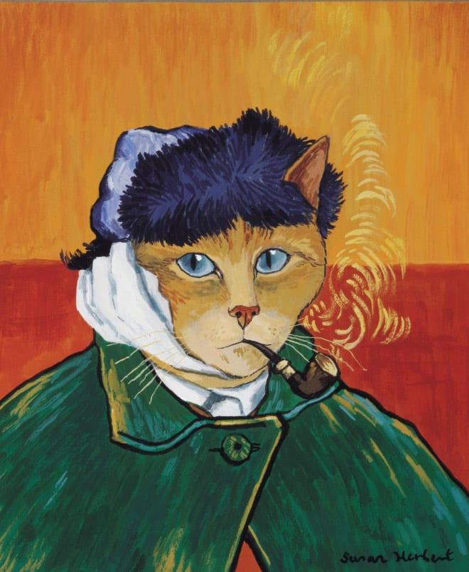 16 всемирно известных картин, героями которых выступили котики! рис 14
