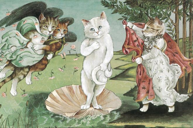 16 всемирно известных картин, героями которых выступили котики! рис 12