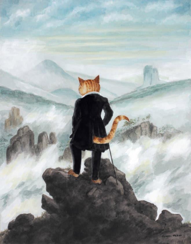 16 всемирно известных картин, героями которых выступили котики! рис 10