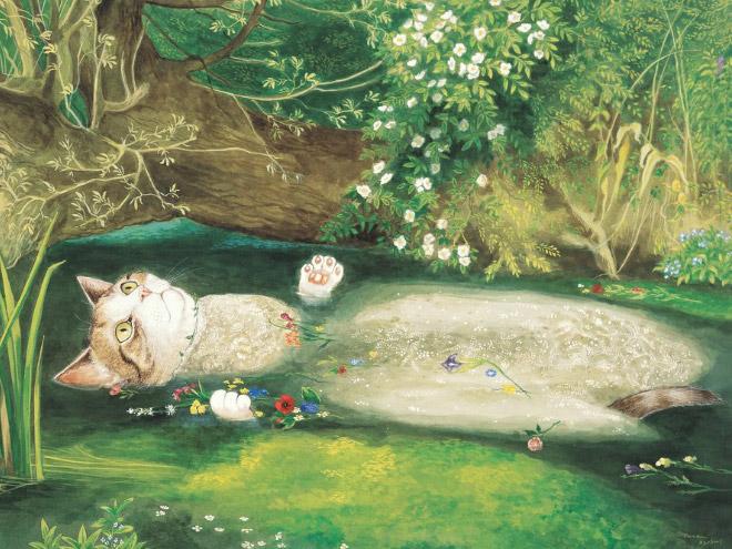 16 всемирно известных картин, героями которых выступили котики! рис 8