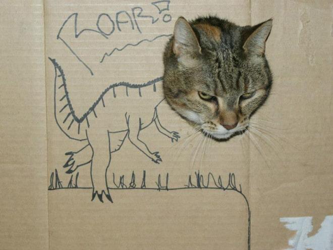 14 забавных котозавров со всего интернета! рис 6