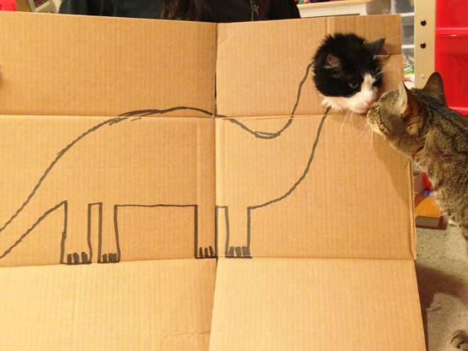 14 забавных котозавров со всего интернета! рис 5