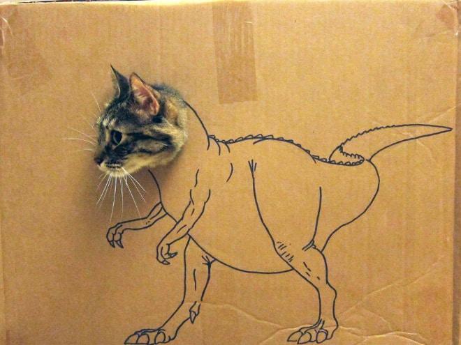 14 забавных котозавров со всего интернета! рис 2