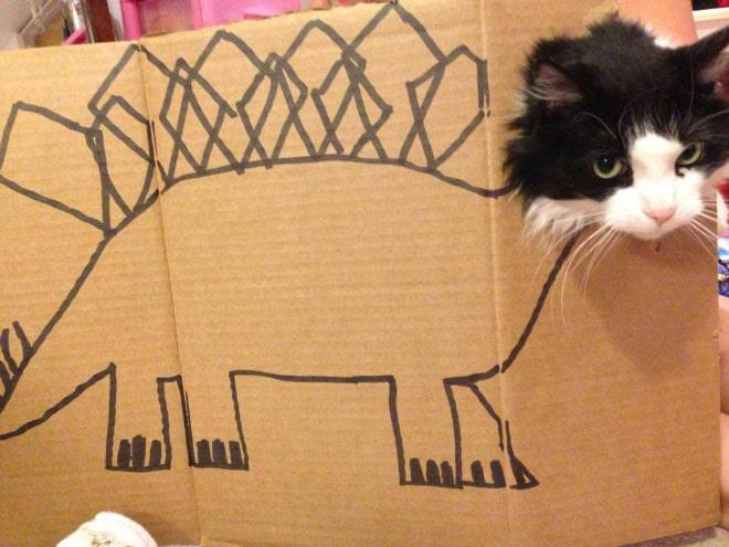 14 забавных котозавров со всего интернета! рис 11