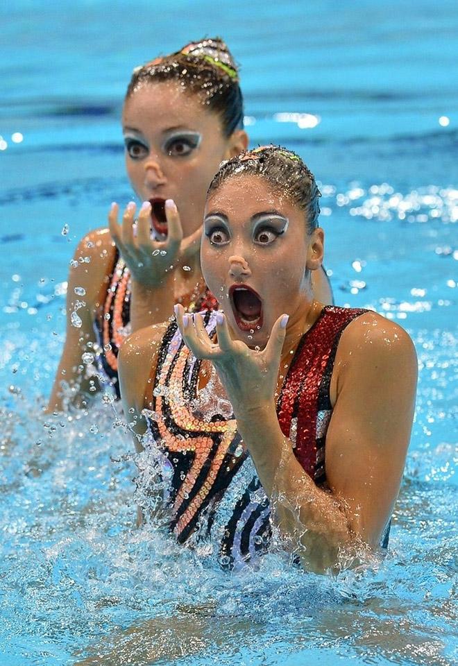 15 доказательств того, что фотосъемка в синхронном плавании это зло!