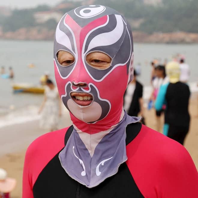 20 примеров бессмысленной и беспощадной моды с пляжей Китая! рис 20
