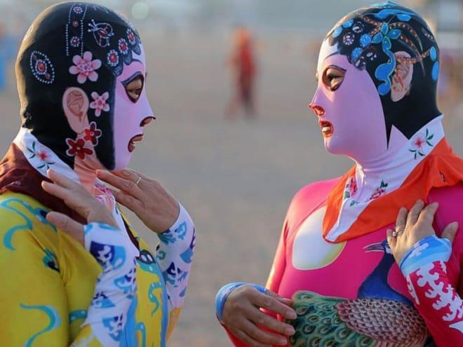 20 примеров бессмысленной и беспощадной моды с пляжей Китая! рис 2