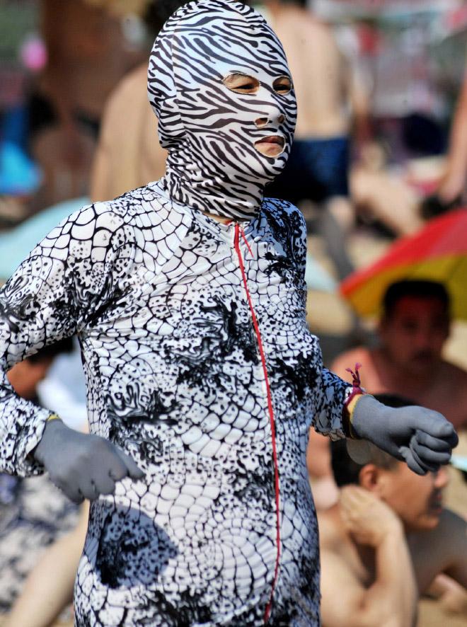 20 примеров бессмысленной и беспощадной моды с пляжей Китая! рис 18