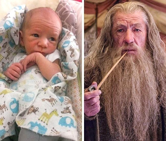 11 Младенцев, которые похожи на знаменитостей, как две капли воды! рис 2