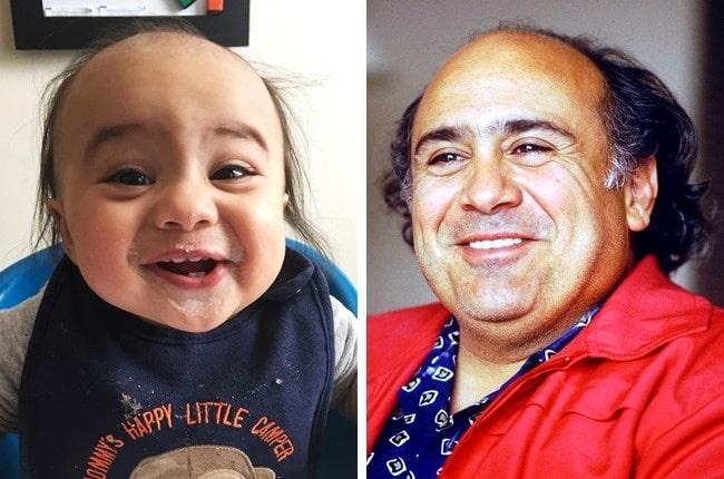 11 Младенцев, которые похожи на знаменитостей, как две капли воды! рис 4
