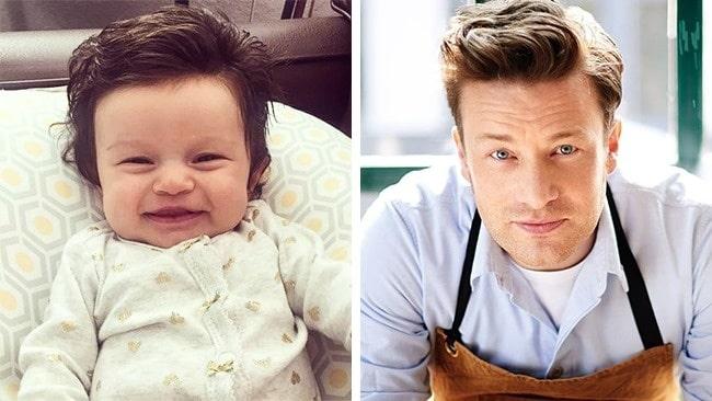 11 Младенцев, которые похожи на знаменитостей, как две капли воды! рис 7