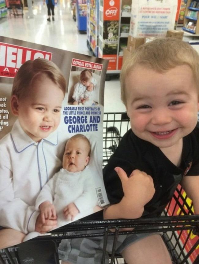 11 Младенцев, которые похожи на знаменитостей, как две капли воды! рис 11