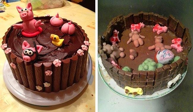 18 смешных тортов, которые могли бы выиграть приз за самый неудачный десерт. рис 15