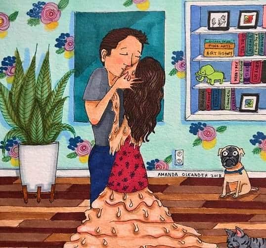 10 слишком честных карикатур о повседневной жизни девушек! рис 3