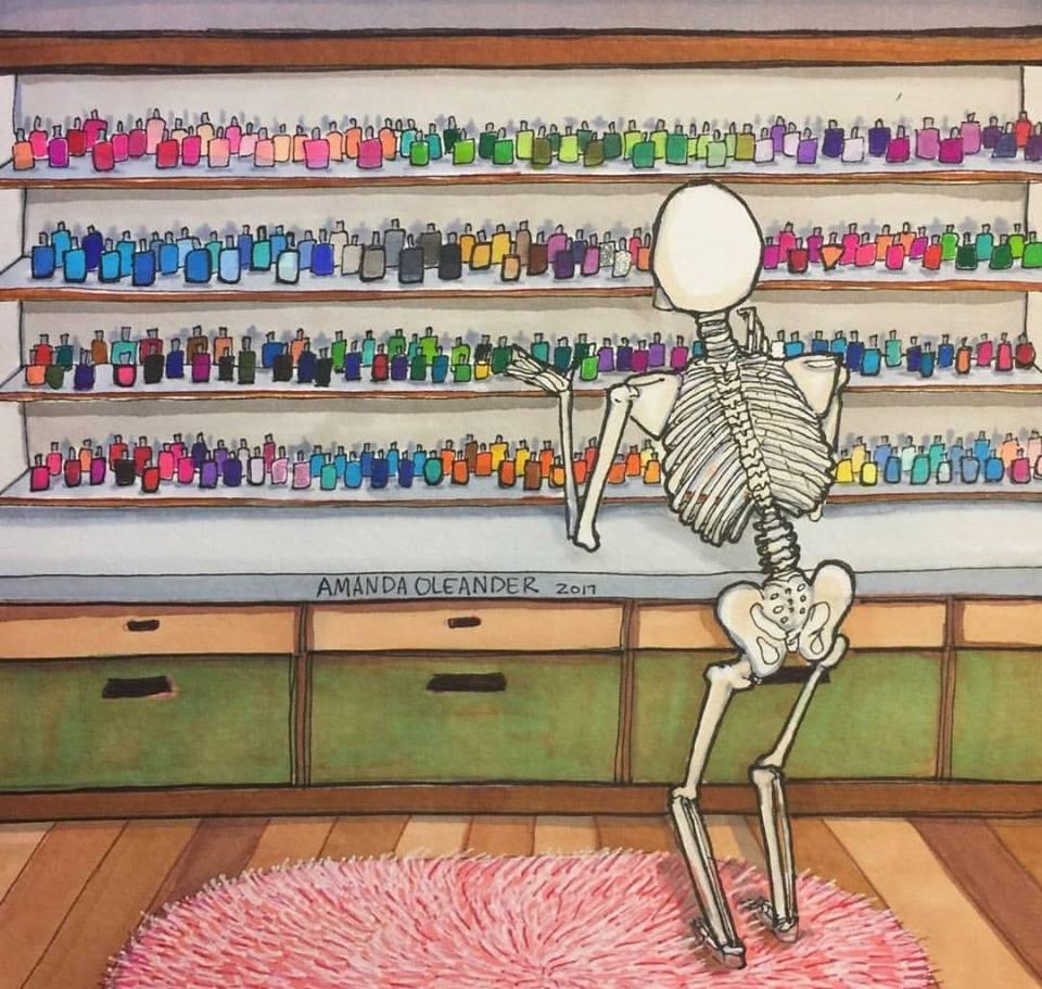 10 слишком честных карикатур о повседневной жизни девушек! рис 5
