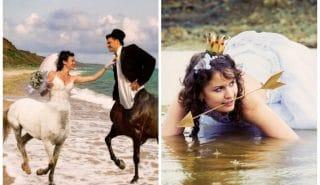 10+ беспощадных свадебных фото, которые могли быть сделаны только в России!