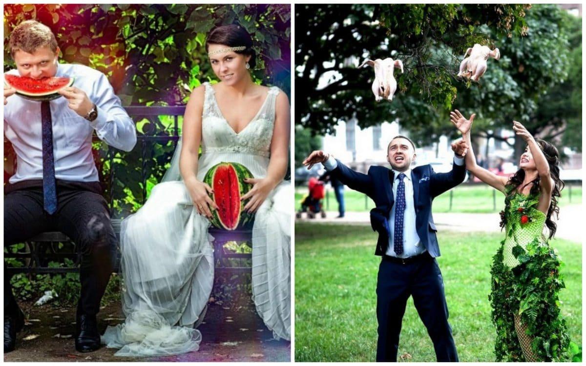 10+ беспощадных свадебных фото, которые могли быть сделаны только в России! Часть II