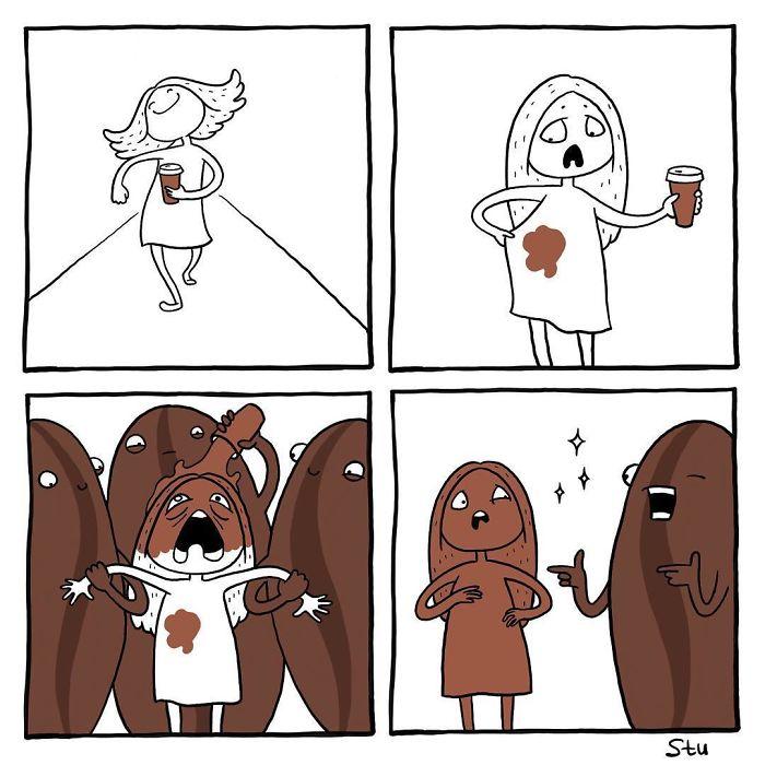 20 забавных комиксов о девичьих проблемах и путях их преодоления