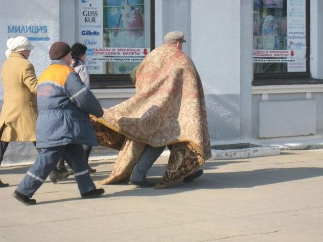 17 доказательств того, что в России действительно любят ковры! рис 13