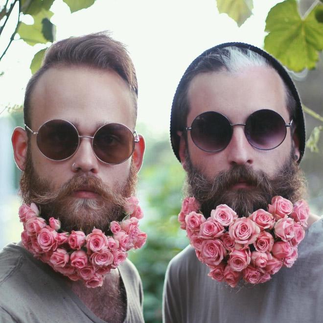 Цветы тебе в бороду! В Инстаграме новый тренд! рис 18