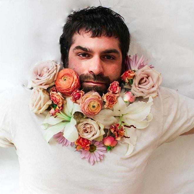 Цветы тебе в бороду! В Инстаграме новый тренд! рис 10