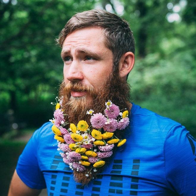 Цветы тебе в бороду! В Инстаграме новый тренд! рис 6