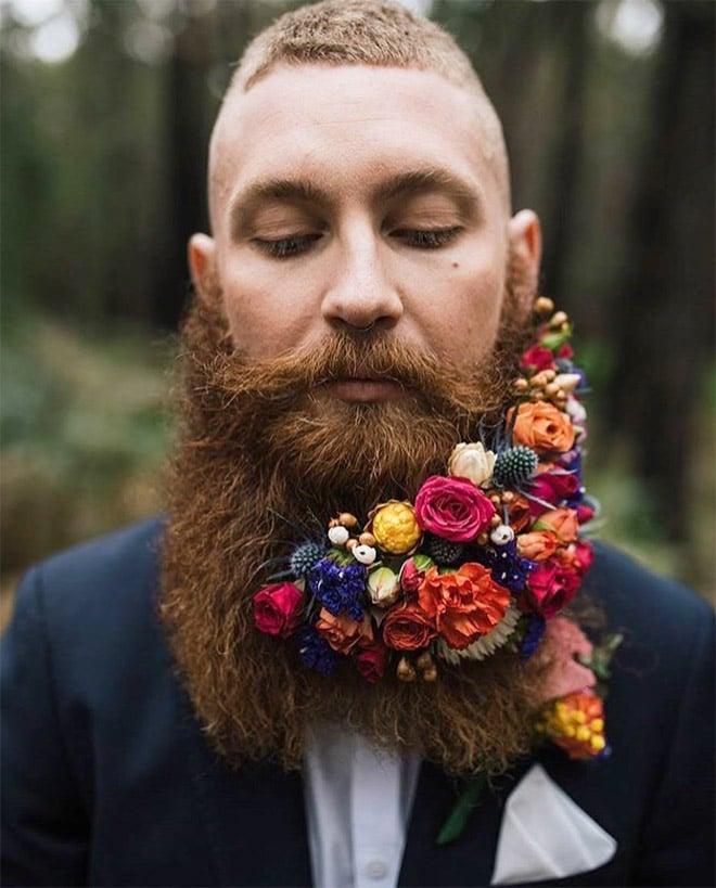 Цветы тебе в бороду! В Инстаграме новый тренд! рис 4