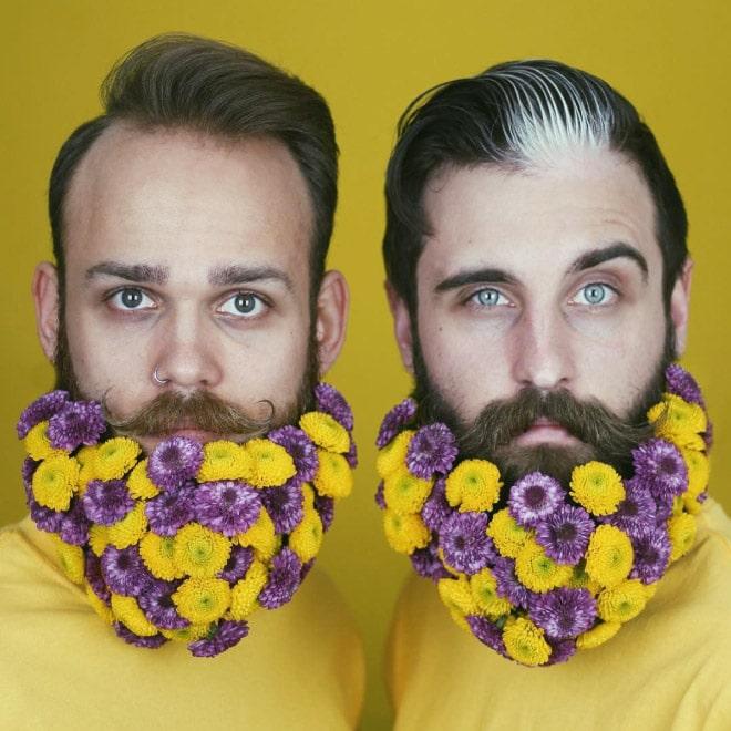 Цветы тебе в бороду! В Инстаграме новый тренд! рис 3
