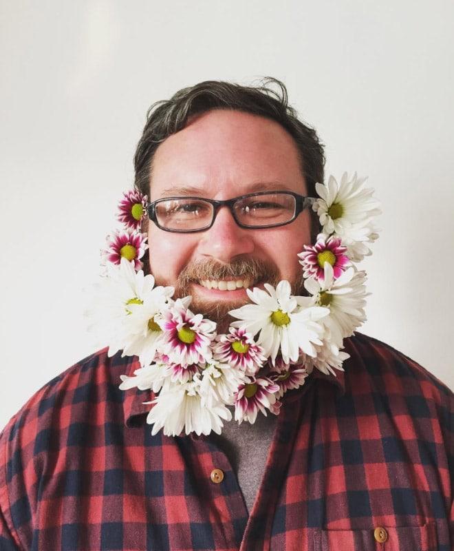 Цветы тебе в бороду! В Инстаграме новый тренд! рис 17