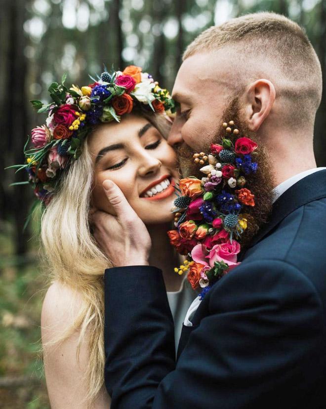 Цветы тебе в бороду! В Инстаграме новый тренд! рис 16