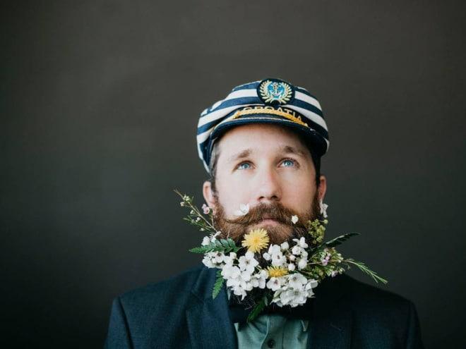 Цветы тебе в бороду! В Инстаграме новый тренд! рис 15