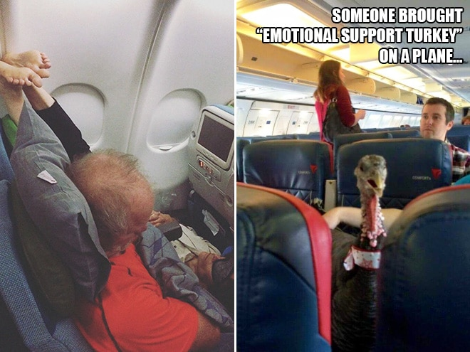 20 пассажиров, сидеть рядом с которыми - ваш ночной кошмар! рис 16
