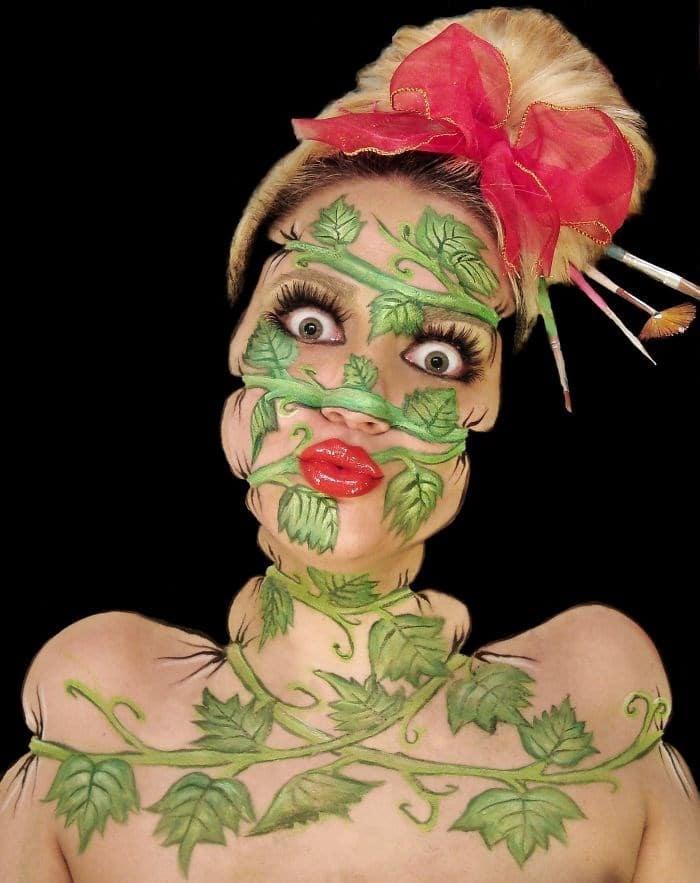 16 безумных примеров макияжа в исполнении хорватской визажистки! рис 16
