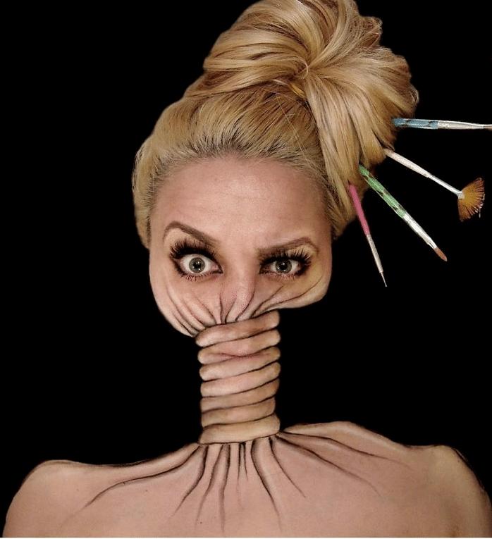 16 безумных примеров макияжа в исполнении хорватской визажистки! рис 14