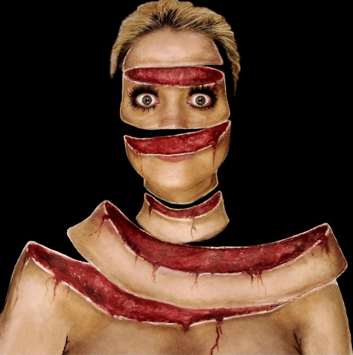 16 безумных примеров макияжа в исполнении хорватской визажистки! рис 2