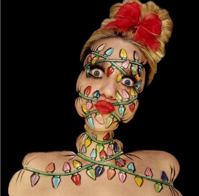 16 безумных примеров макияжа в исполнении хорватской визажистки! рис 11