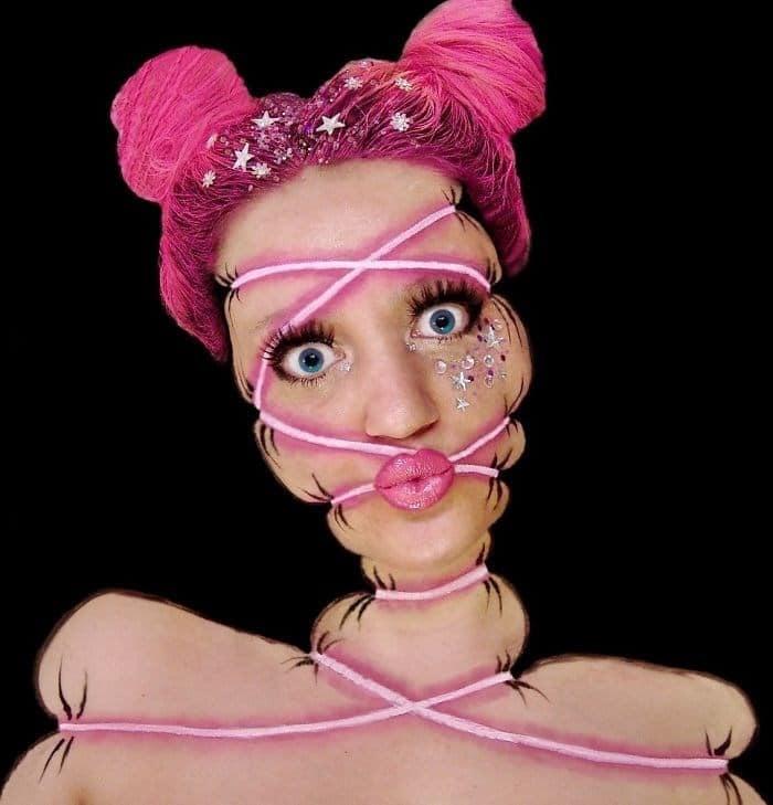 16 безумных примеров макияжа в исполнении хорватской визажистки! рис 10