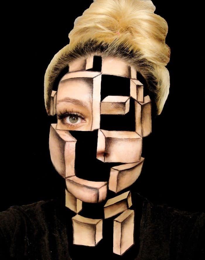 16 безумных примеров макияжа в исполнении хорватской визажистки! рис 9