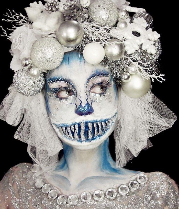 16 безумных примеров макияжа в исполнении хорватской визажистки! рис 8