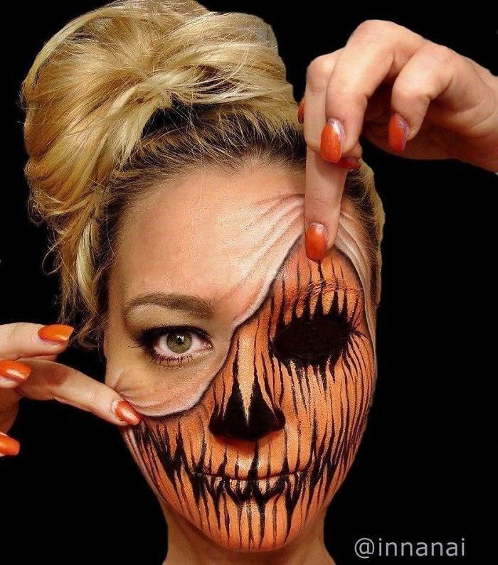 16 безумных примеров макияжа в исполнении хорватской визажистки! рис 5