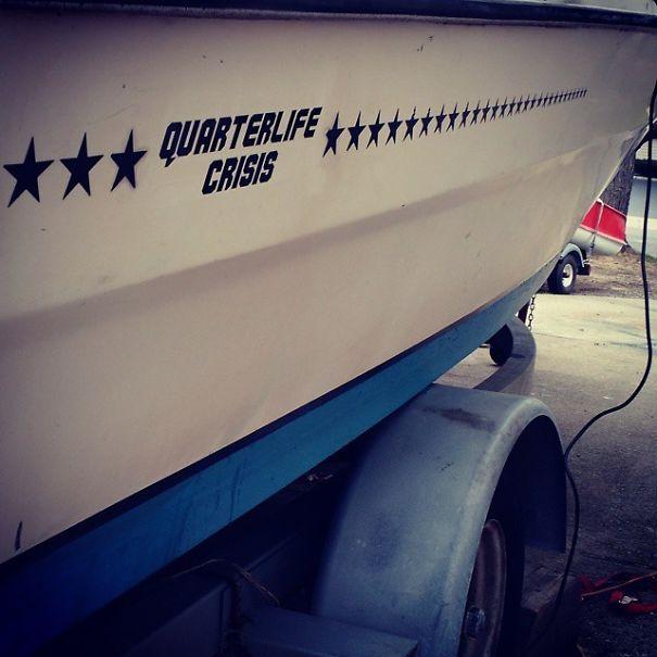 25 самых странных и смешных названий лодок, мимо которых без улыбки не пройти! 24