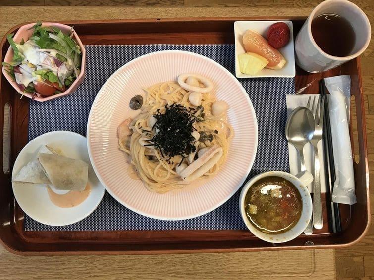 больничная еда 6