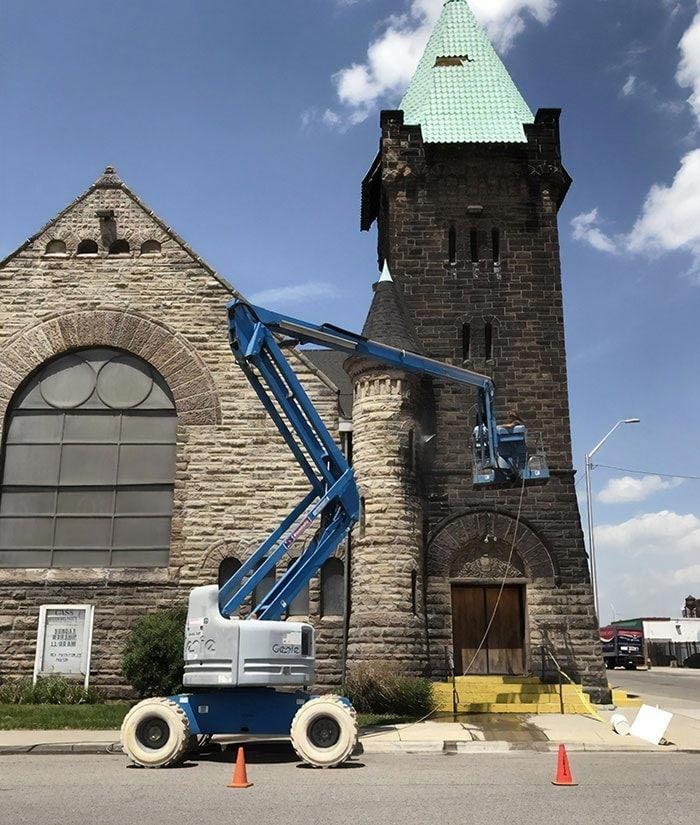 уборка церкви